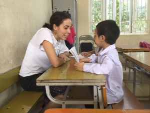 TEACHING FRENCH AT PHU THUONG PRIMARY SCHOOL