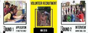LOCAL VOLUNTEER RECRUITMENT 2018